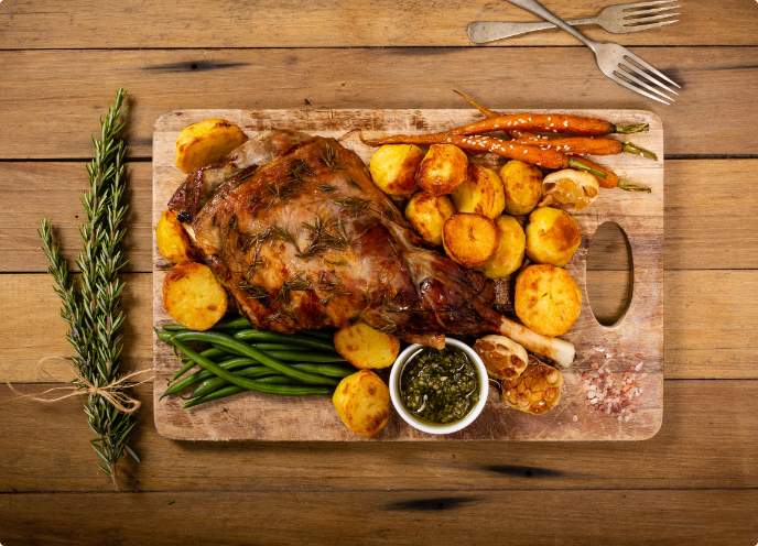 catering-services-bream-bay - delicious-lamb-roast- country-caterers